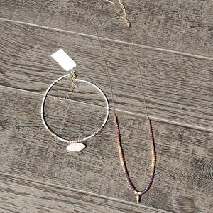 FREE W PURCHASE Two Beaded Necklaces